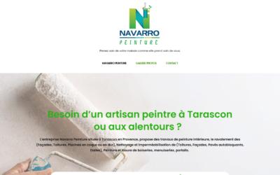 Référencement naturel du site Navarro Peinture